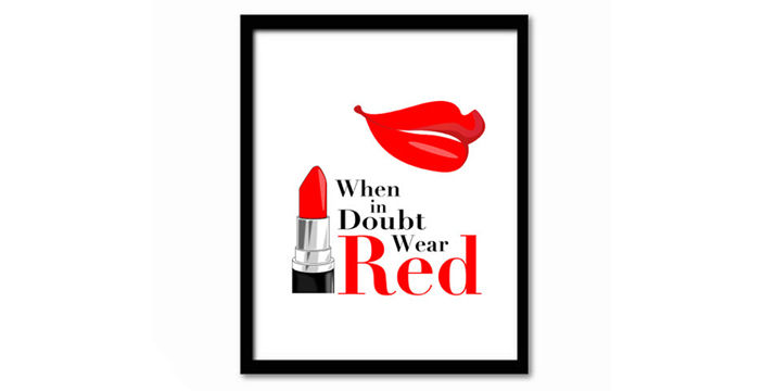 Red Lipstick Quotes | The Power Of Red Lipstick