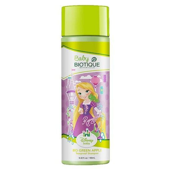 Biotique Bio Green Apple Baby Princess Tearproof Shampoo (190 Ml)