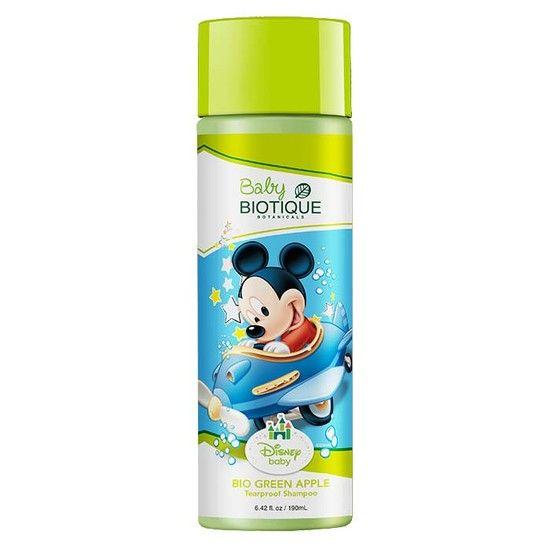 Biotique Bio Green Apple Mickey Tearproof Shampoo (190 Ml)