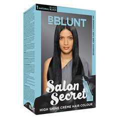 Bblunt salon secret high shine creme hair colour black for Bblunt salon secret