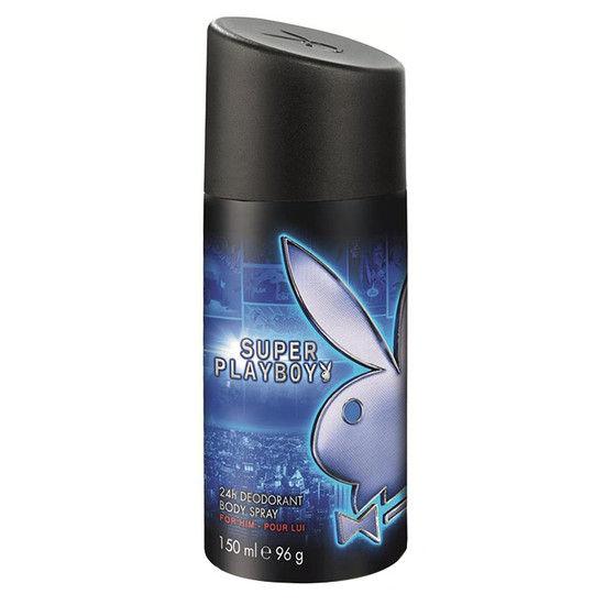 Playboy Super Men Deodorant Body Spray For Men (150 Ml)
