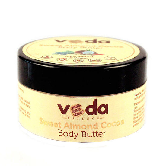 Veda Essence Sweet Almond Cocoa Body Butter (100 G)