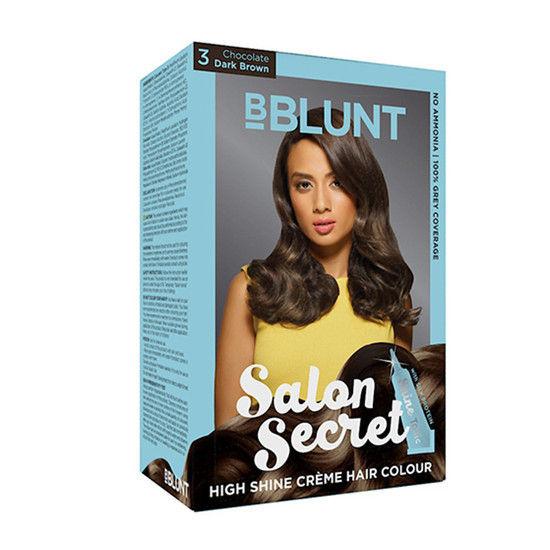 Bblunt salon secret high shine creme hair colour coffee for B blunt salon price list